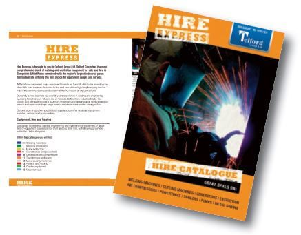 Hire Express Catalogue